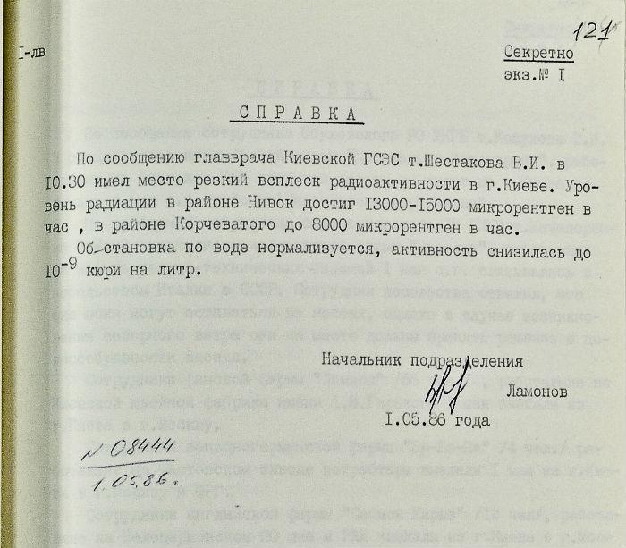 Сегодня – 30-я годовщина катастрофы на Чернобыльской АЭС - Цензор.НЕТ 506