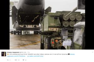 Военные США и Великобритании выдвигаются к границе Сирии