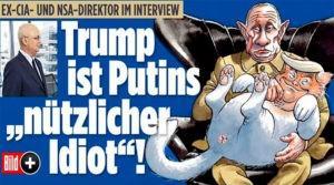 Экс-глава ЦРУ Майкл Хейден: Русские считают Трампа «полезным идиотом»