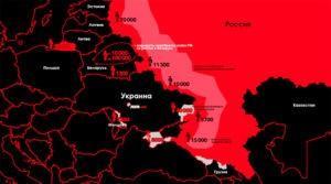 Кремль готовит армию с глубиной вторжения до 500 км на запад