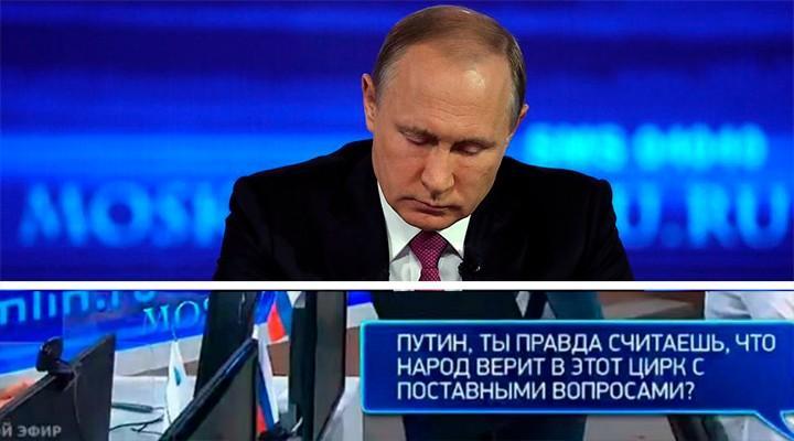 «Прямая линия» показала: Путину не позволят идти на новый президентский срок