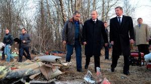 На борту самолета Ту-154 президента Польши произошло три взрыва
