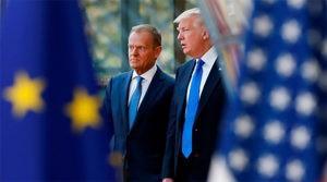 Трамп объявил ЕС крупнейшим врагом США. Туск назвал его лжецом
