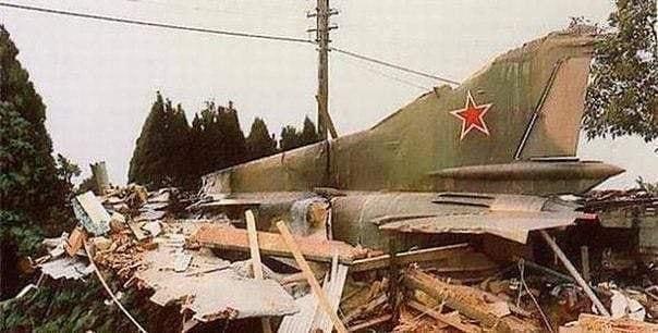 """Cоветский истребитель МиГ-23М в 1989 г. """"улетел"""" на автопилоте в Бельгию, когда его пилот катапультировался"""