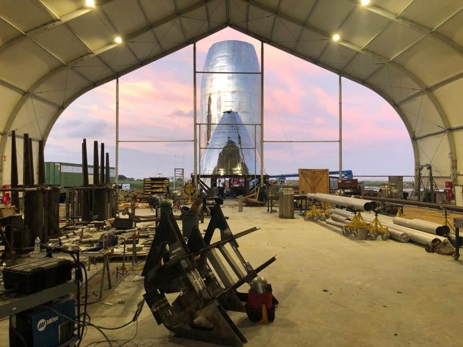В США идет сборка марсианского корабля Илона Маска (фото)