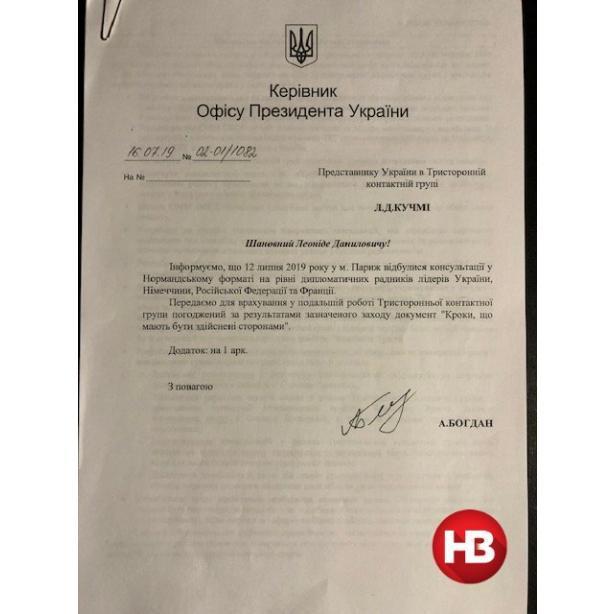 Формула Богдана по сдаче Украины была согласована Зеленским ещё в июле