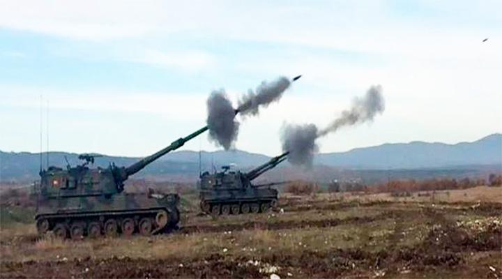 Турки начали наступление на курдов. Трамп вновь грозит Анкаре
