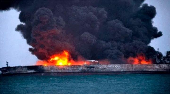 ТАНКЕРНАЯ ВОЙНА. В Красном море атакован иранский нефтяной танкер. Ответ саудитов или «игра» России?