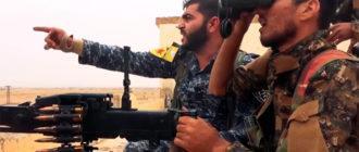 Асадиты пытаются перехватить Манбидж и Ракку. Американцы бомбят войска Асада