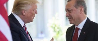 Трамп выводит войска с севера Сирии, но работает с конгрессом над санкциями против Турции