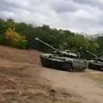 Россия скапливает военую технику у границы с Украиной (видео)