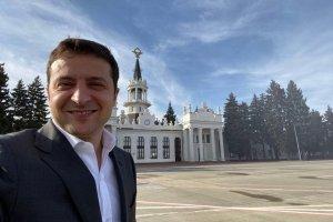Фото президента в Харькове - куда пропали 73%