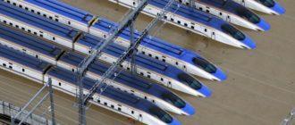 В Китае из-за тайфуна скоростные поезда ушли под воду