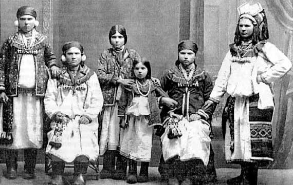 Московь лесная – финно-угорская