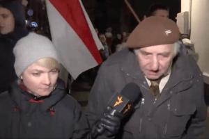 """Беларусский дедушка про интеграцию с Россией: """"несмотря на то, что мне 82, я хорошо стреляю"""" (видео)"""