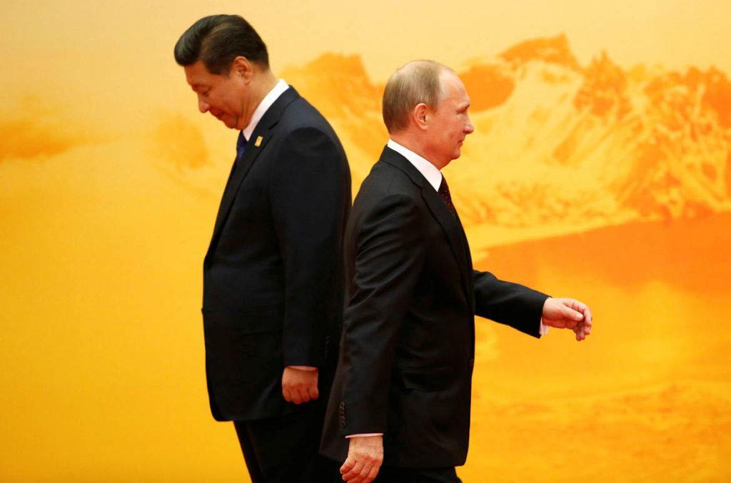 Китайские товарищи ударили в подбрюшье