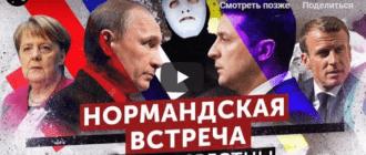 Путин и Зеленский. Итоги встречи в Нормандском формате