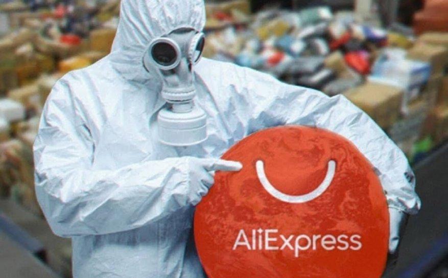 Можно ли заразиться китайским вирусом через посылку с AliExpress