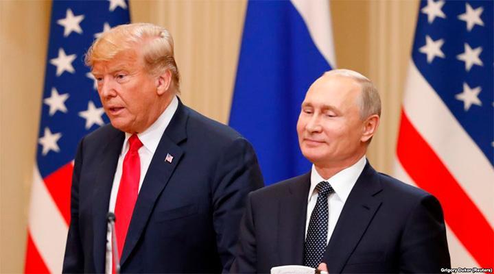 Путин снова пытается помочь Трампу победить на выборах. Трамп не доволен утечкой информации