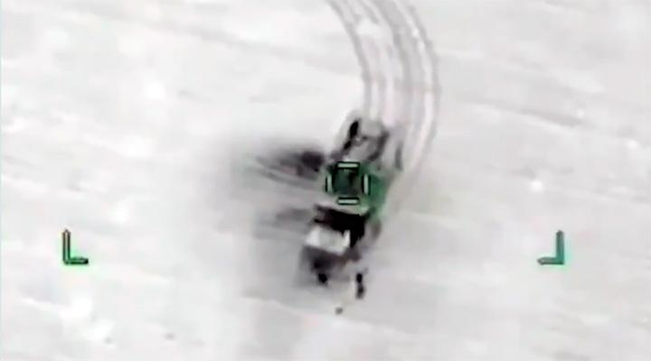 Самое современное российское оружие оказалось рабочим только в мультфильмах. Турецкие дроны уничтожили преславутый «Панцирь» во время боевого дежурства (видео)