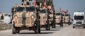 Турки не верят России и наращивают военную группировку в Сирии