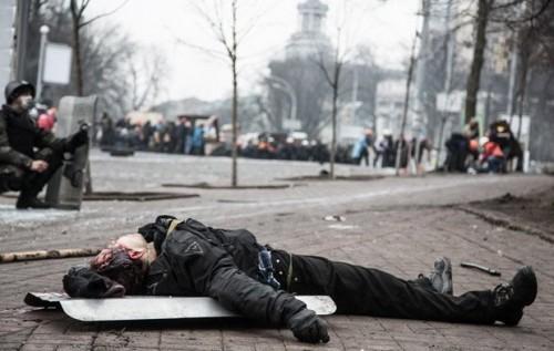 На Майдане стреляли спецназовцы из Воронежской области