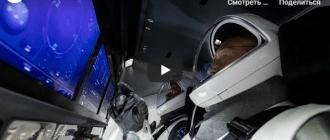 Вторая попытка экспедиции: Астронавты НАСА на борту Crew Dragon (видео)