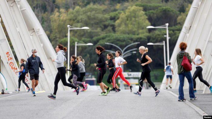 ВОЗ советует взрослым тратить минимум 20-40 минут в день на физическую нагрузку
